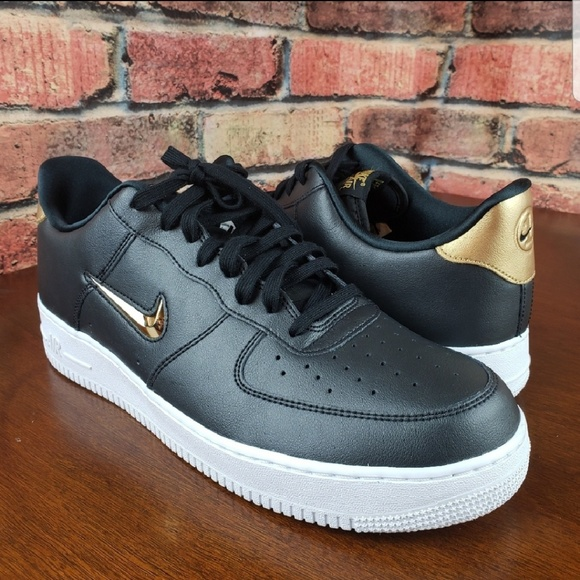 newest collection e2fa2 8f1db Nike Air Force 1 Low  07 LV8  Gold Jewel